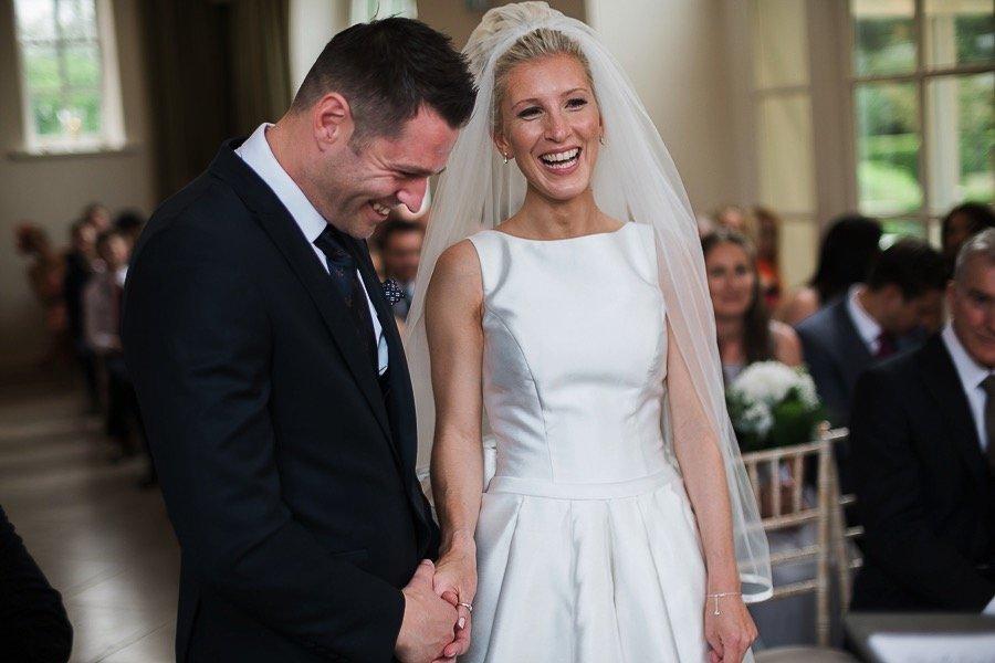 Bride and Groom Iscoyd Park